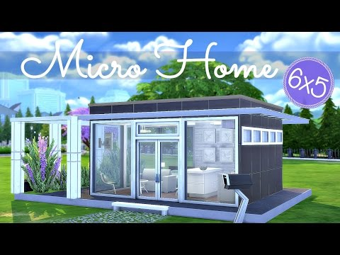 Sims 4 | House Build: Micro Home Starter