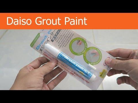 grout paint pen black paint pen black