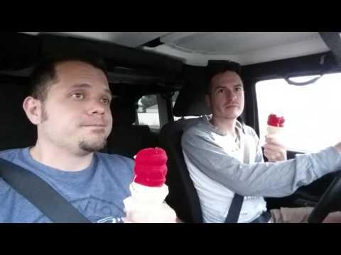 Optimus Prime and Cherry dipped cones...