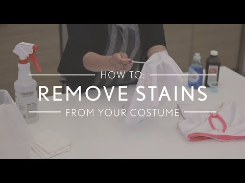 How to Remove Stains from Your Dance Costume