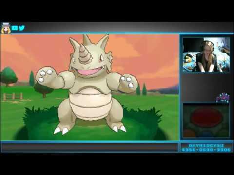 [LIVE] Shiny Rhydon - 724 Encounters | Pokemon X