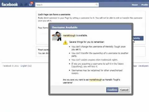 How to Claim Your Facebook Fan Page URL