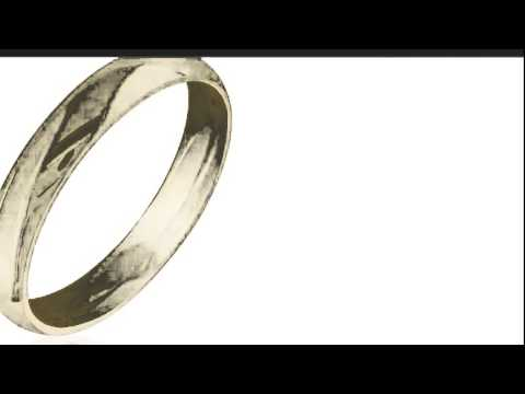 Comfort Fit 5mm 10K Yellow Gold Mens Wedding Band, Size 12 - SuperJeweler.com