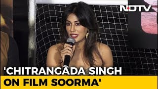 Chitrangada Singh On Backing Film