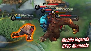 Mobile Legends WTF | EPIC Moments and funny BUG