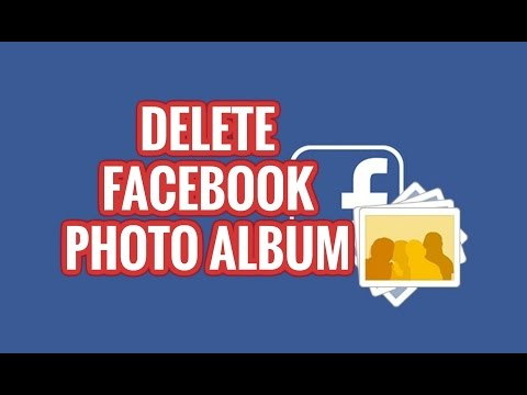 How To Delete Your Photo Album From Facebook Quickly
