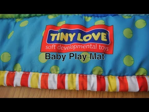 Baby Play Mat For Infant Floor Activity & Tummy / Nap Time in Large Portable Indoor / Outdoor Size