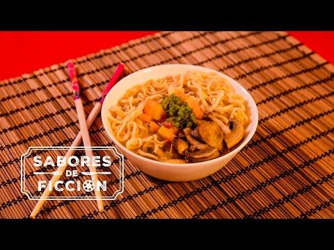 Noodles de Kung Fu Panda con Cristina Dacosta   Sabores de Ficción