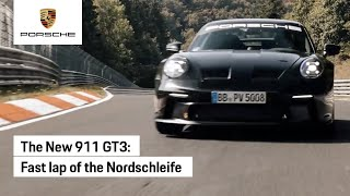 The New 911 GT3 at the Nürburgring