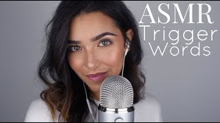 ASMR Trigger Words (Sleepy, Relax, Tingles, Glow, Stipple…+)
