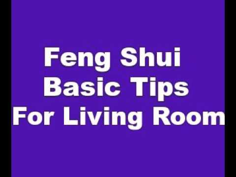 Feng Shui Basic Tips For Living Room