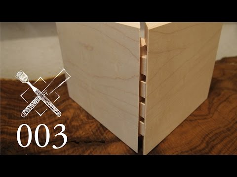 Joint Venture Ep. 3: Full blind dovetails (Western / Japanese Joinery)