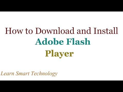 How to Download and Install Adobe Flash Player