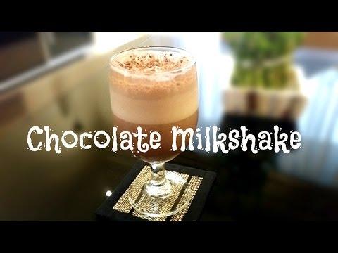 Chocolate Milkshake-Chocolate Shake-Homemade Chocolate Milkshake Recipe-Cocoa Powder