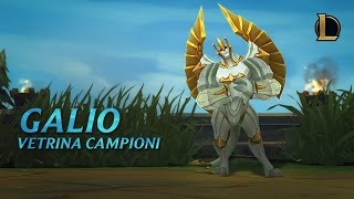 Vetrina campioni: Galio | Gameplay - League of Legends