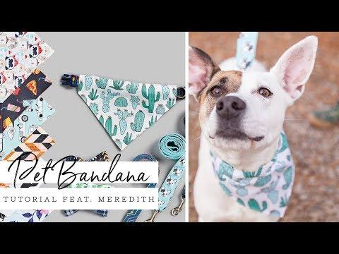 Easy Pet Bandana   Spoonflower
