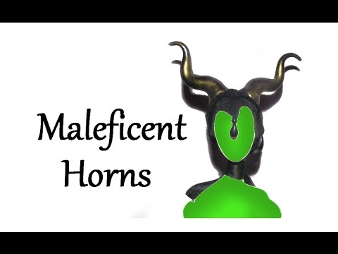 How to make Maleficent inspired Horns Tutorial DIY
