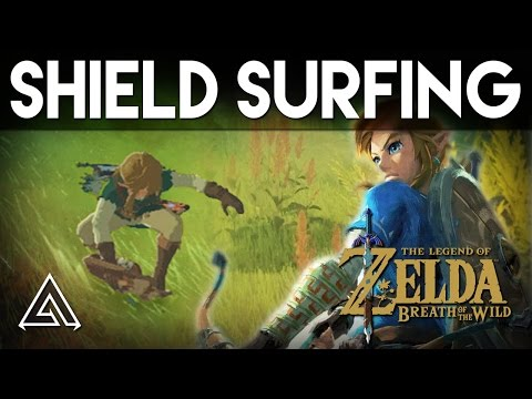 The Legend of Zelda Breath of the Wild | How To Shield Surf Like A Pro
