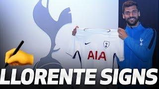 FERNANDO LLORENTE SIGNS FOR SPURS
