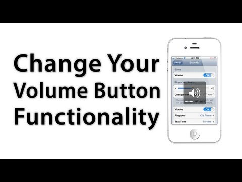 [iOS Advice] How To Change Your Volume Button Functionality