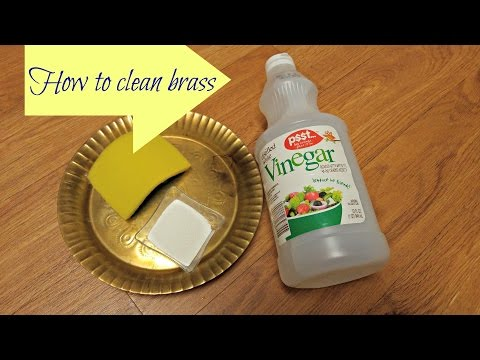 How to clean Brass vessel | Easy way to clean Brass