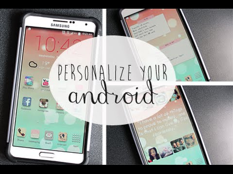 ✿ PART 2: Personalize & Make your Android Phone SUPER Cute (Font, bokeh, etc!) ✿