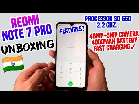 Redmi Note 7 Pro Unboxing (Indian Unit)😍 Hands-On 48Mp+5Mp 4000Mah SD 660 | Note 7 Pro Features