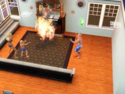 Sims 3 Fireplace Fire
