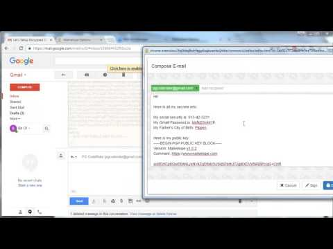 Encrypt Your Gmail/Yahoo/Outlook/iCloud and Other Webmail