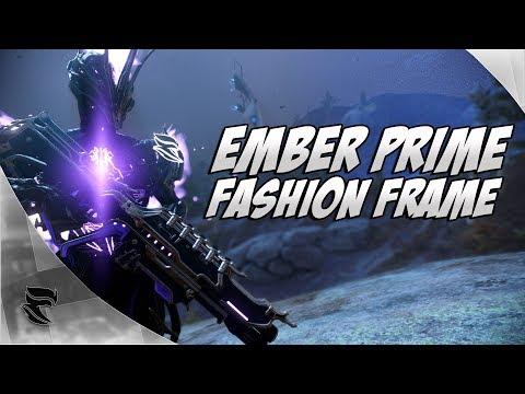 Warframe: Ember Prime Fashion Frame