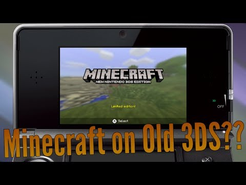[Minecraft 3DS] How Does an Old 3DS Perform?