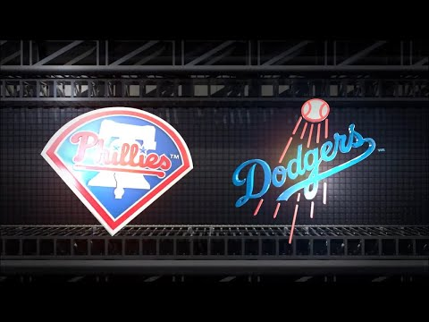 MLB The Show 18 (PS4) - Phillies vs Dodgers Game 4 (Full Broadcast Presentation)