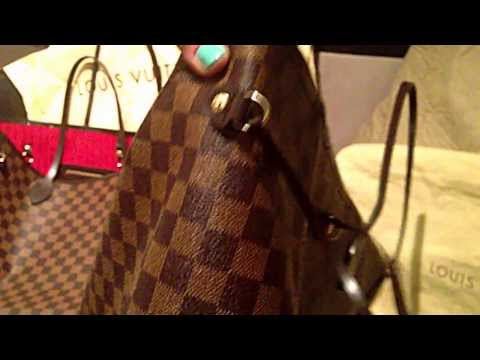 Copy of How To Spot a FAKE Louis Vuitton Neverfull GM Damier Ebene - FlipYourFlap.com