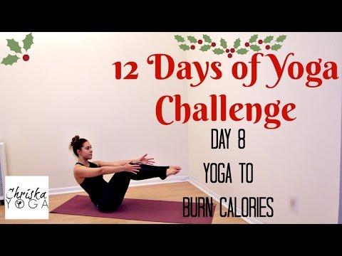 12 Days of Yoga Challenge | Day 8 - Yoga to Burn Calories