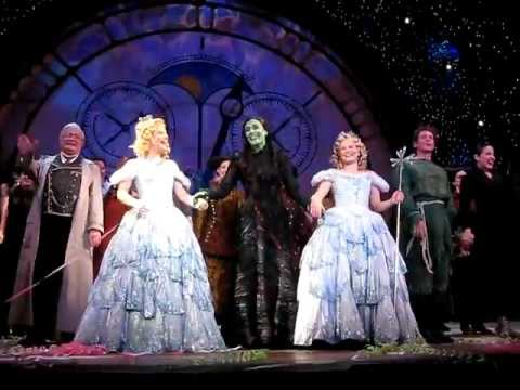 Perth / Oz Wicked Final Show Curtain Call and Speeches 11/09/2011 after 6:30pm show