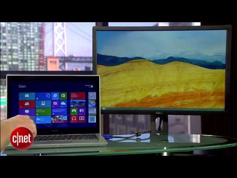 CNET How To - Run Windows 8 desktop on a second monitor