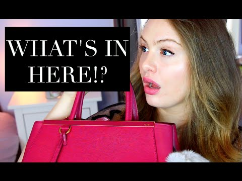 WHAT'S IN MY BAG?! + FENDI 2Jours Review