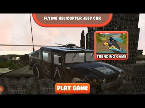 SWAT Helicopter Jeep Ghetto 3D  [HD]