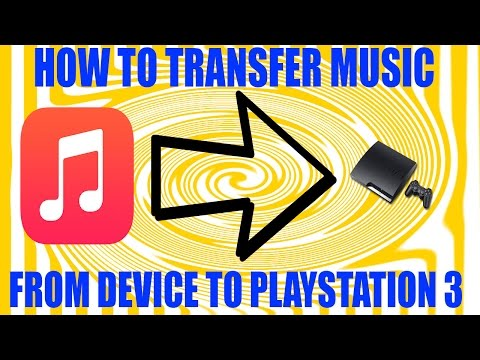how to transfer music from ipod/iphone/ipad to ps3