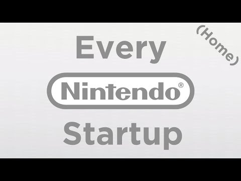 [HD|60FPS] Every Nintendo Home Console Startup! (Famicom, N64DD, GC, Wii, Switch and more!)