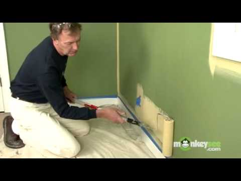 Painting Walls Using a Roller