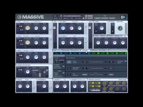 How to Make: Avicii - Levels Background Synth Rise  !? ^_6 ( free massive preset/midi)