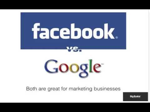 Facebook vs Google advertising