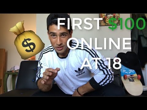 How I Made My First $100 Online at 18 | GUARANTEED TO WORK!