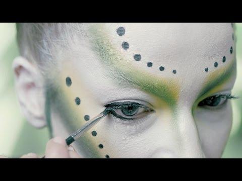 ALIEN QUEEN by Stephanie Roberts - Halloween Makeup Tutorial