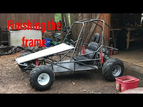 building the two speed off road go kart part 4