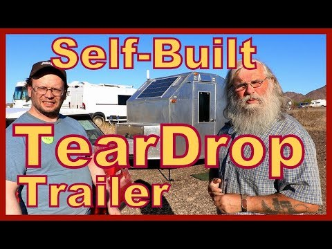 Self-Built Teardrop Trailer