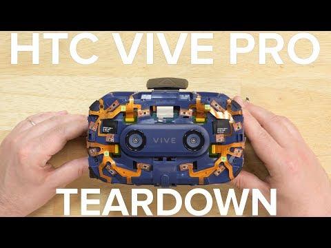 HTC VIVE Pro Teardown!