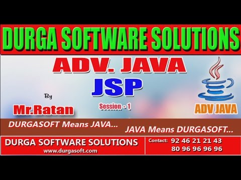 Adv java tutorial || onlinetraining|| JSP(Java Server Page ) Session - 1 by Ratan