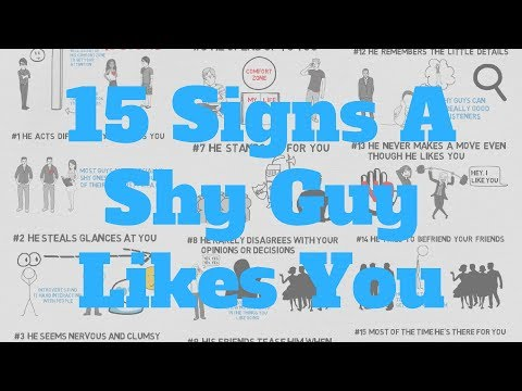 Signs A Shy Guy Likes You (15 Signs To Pick Up)